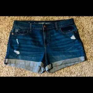 Women's Old navy blue Jean shorts